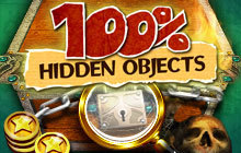 100% Hidden Objects Badge
