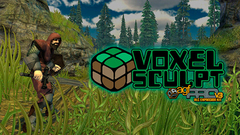 Axis Game Factory's AGFPRO Voxel Sculpt DLC