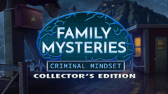 Family Mysteries 3: Criminal Mindset Collector's Edition