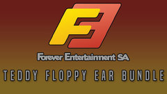Forever Entertainment Teddy Floppy Ear Bundle