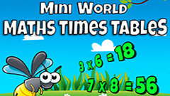 Mini World Maths Times Tables