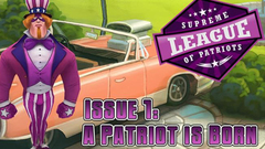 Supreme League of Patriots - Issue 1: A Patriot is Born