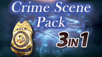 Hidden Objects - 3 in 1 - Crime Scene Pack