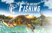 3D Arcade Fishing Badge