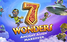 7 Wonders: Ancient Alien Makeover Collector's Edition Badge