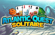 Atlantic Quest Solitaire Badge