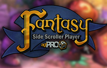 Axis Game Factory's AGFPRO Fantasy Side-Scroller Player DLC Badge