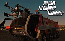 Airport Firefighter Simulator Badge