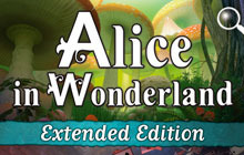 Alice in Wonderland Extended Edition Badge