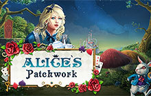 Alice's Patchwork Badge