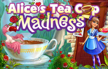 Alice's Tea Cup Madness Badge