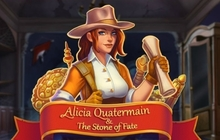 Alicia Quatermain and the Stone of Fate Badge