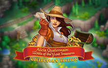 Alicia Quatermain: Secrets Of The Lost Treasures Collector's Edition Badge