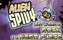 Alien Spidy: Between a Rock and a Hard Place DLC Badge