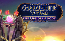 Amaranthine Voyage: The Obsidian Book Badge