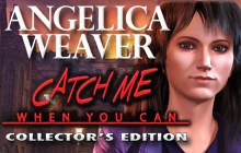 Angelica Weaver: Catch Me When You Can Collector's Edition Badge