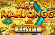 Art Mahjongg Egypt Badge