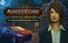 Ashley Clark: The Secrets of the Ancient Temple Badge