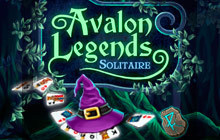 Avalon Legends Solitaire Badge