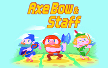 Axe, Bow & Staff
