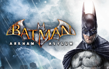 Batman: Arkham Asylum Badge