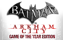 Batman: Arkham City Game of the Year Edition Badge