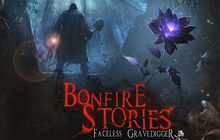 Bonfire Stories: The Faceless Gravedigger Badge