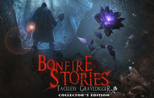 Bonfire Stories: The Faceless Gravedigger Collector's Edition Badge