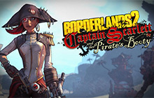 Borderlands 2: Captain Scarlett and her Pirate's Booty DLC Badge
