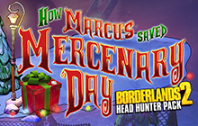 Borderlands 2: Mercenary Day Badge