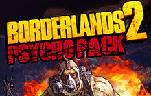 Borderlands 2: Psycho Pack Badge