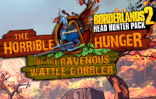 Borderlands 2: Wattle Gobbler Badge