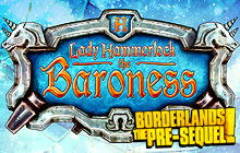 Borderlands: The Pre-Sequel: Lady Hammerlock the Baroness Pack Badge