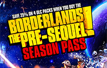 Borderlands: The Pre-Sequel Season Pass Badge