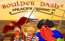 Boulder Dash - Pirate's Quest Badge