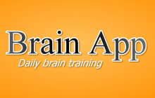 Brain App - Daily Brain Training Badge
