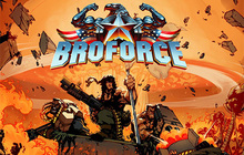 Broforce Badge