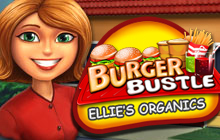 Burger Bustle: Ellie's Organics Badge