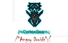 CortexGear: AngryDroids Badge