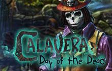 Calavera: Day of the Dead Badge