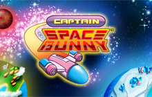 Captain Space Bunny Badge
