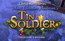 Christmas Stories: Hans Christian Andersen's Tin Soldier Collector's Edition Badge
