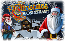 Christmas Wonderland Badge
