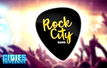 Cities: Skylines - Rock City Radio Badge