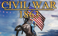Civil War: 1863 Badge