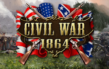 Civil War: 1864 Badge