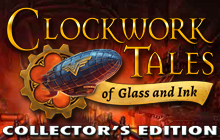 Clockwork Tales: Of Glass and Ink Collector's Edition Badge