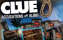 CLUE Accusations and Alibis Badge