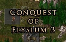 Conquest of Elysium 3 Badge