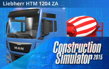 Construction Simulator 2015: LIEBHERR® HTM 1204 ZA Badge